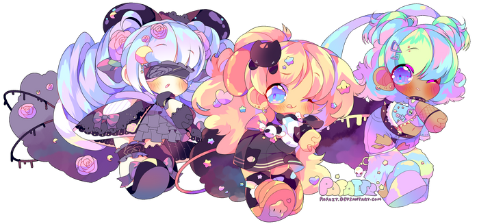 SPACEPUFF CUSTOMS by Pafait