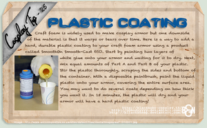 Cosplay Tip 25 - Plastic Coating by Bllacksheep
