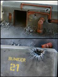 bunker 21 detail by ariscene