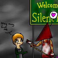 A Warm Welcome to Silent Hill by sclirada