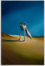 Lost in the Desert by DellesioArt
