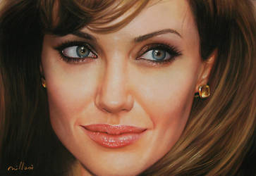 Angelina Jolie by fabiano millani by fabianoMillani
