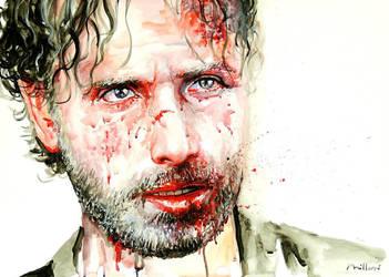 Walking Dead by fabianoMillani