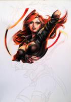 WIP: Katarina - League of Legends by JeanCarlo183