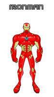 Iron Man (Nano Tech Armor Design) by Eye-of-Ra-X