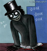 Babadook by Deathlydollies13