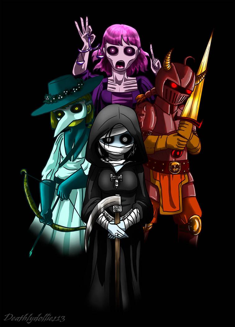 Ladies of Apocalypse by Deathlydollies13