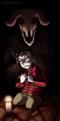 Goretober 3 Black Magic by Deathlydollies13