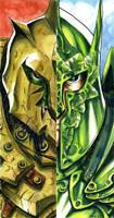 Orc versus Elf by DKuang