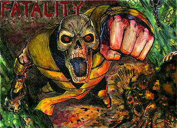 Scorpion Fatality ATC Colors by DKuang