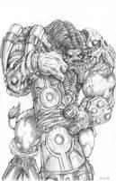 Tauren Druid by DKuang