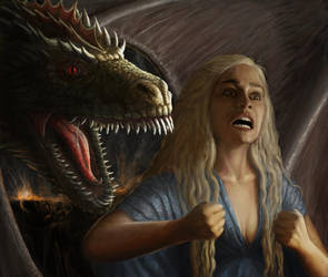 With Fire and Blood by MichaelThom