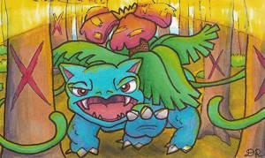 Pokemon 003 - Venusaur by ritabuuk
