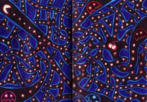 Pac-Maze by ritabuuk