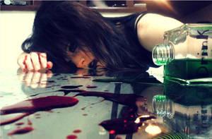 Wrong Drink by vampiresugarrush
