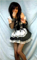 Giggly Maid by vampiresugarrush