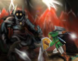 Final Showdown: Link Vs Ganon by The-B-Meister
