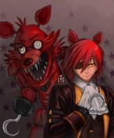 Foxy th' Scurvy Pirate by SirMei