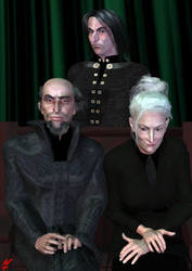 Snape Family Portrait by flam
