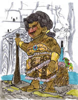 Female Tongan Dwarf by monkeypress