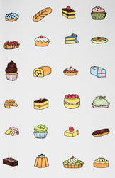 Bakery Sweets by ktree