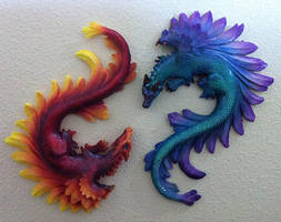 Thorn and Flame by DLPancake