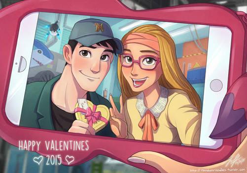 Tadahoney Valentine by Jeff-Mahadi