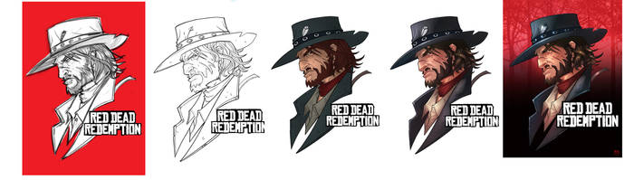 Making of Red Dead Redemption by Bing-Ratnapala