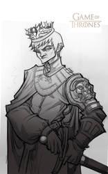 Game of Thrones: Joffrey Baratheon (sketch) by Bing-Ratnapala
