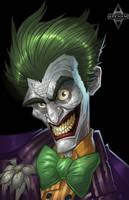 Arkham City: The Joker by Bing-Ratnapala