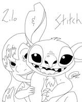 Lilo and Stitch by Spinalz