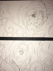 Sakura and Ino by Spinalz