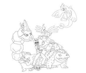 Pokemon Trainer Rein by Spinalz