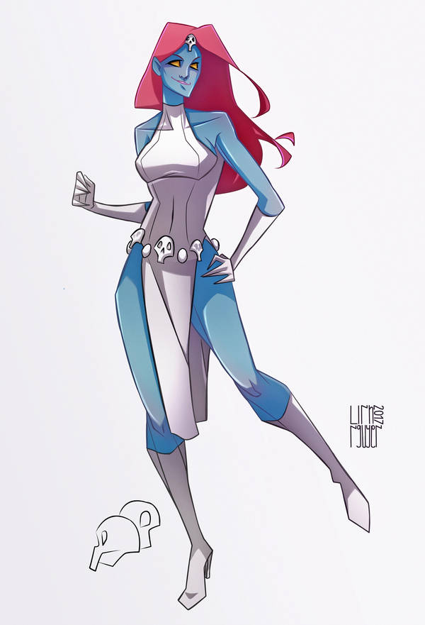 Mystique by franganesques