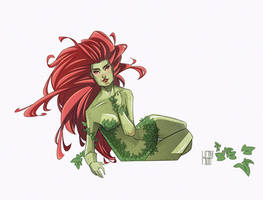 Poison Ivy by franganesques