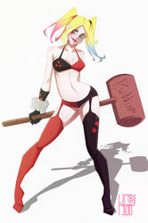Harley Quinn/ Harleen Quinzel by franganesques
