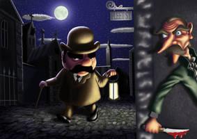 Hercule Poirot by silas-chosen