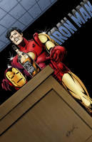 Iron Man Color Piece by mgasser