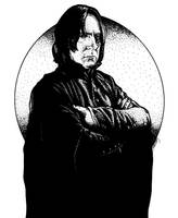 A rather serious Snape by mgasser
