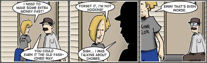 Misfits of Fandom strip 18 by mgasser