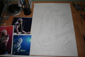 : A L LIVE COLLAGE WIP: by Angelstorm-82
