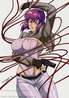 Major Kusanagi: Practice by Angelstorm-82