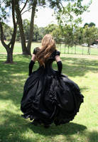 gothic balldress 7 by DebauchedSeductress