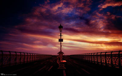 Pier Into The Dawn by l8 by 350dlovers