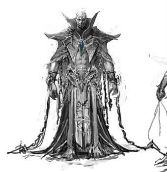 Evil wizard sketch by dimelife