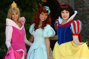 Princess Friends by DisneyLizzi