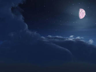 Pink Cheese Moon by WhateverWorks1728