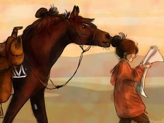 Horse Bun by Keizanes