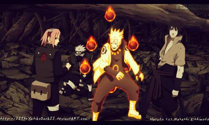Naruto Manga 675 The Work Of The Team Seven by IITheYahikoDarkII