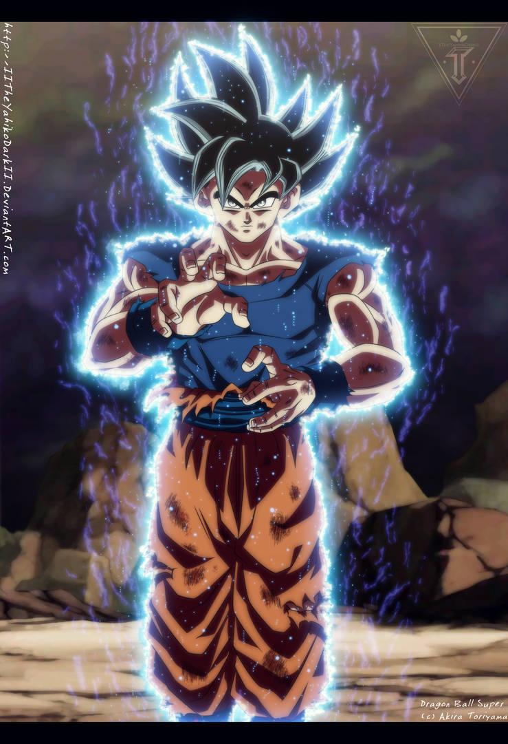 Dragon Ball Super Ultra Instinct By Iitheyahikodarkii On Deviantart